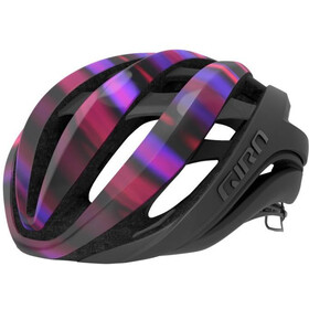 Giro Aether MIPS Cykelhjelm, matte black/electric purple